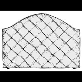 Wezgłowie pikowane w karo zaokrąglone - usługa szycia