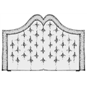 Wezgłowie gęsto pikowane z koroną- usługa szycia