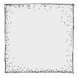 Poducha kwadratowa - usługa szycia
